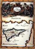 Map of Cyprus year 1683