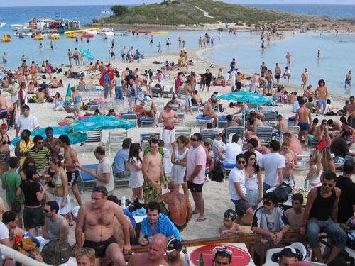 Нисси пляж фото туристов