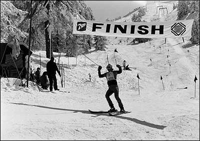 A race on North Face back in 1980