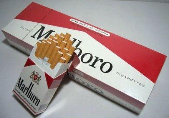 блок сигарет
