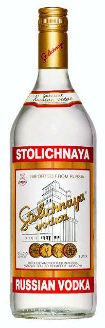 Русская водка Столичная Stolichnaya