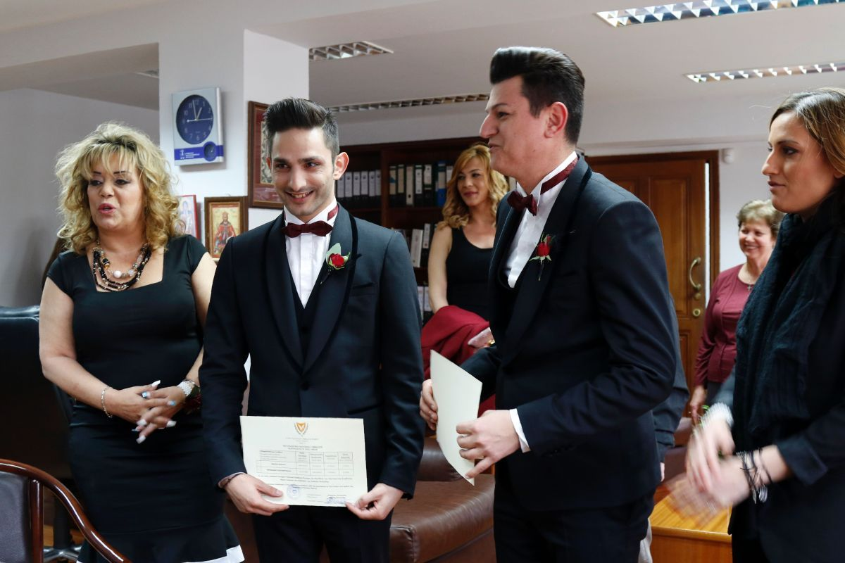 Свадьба геи Никосия Кипр