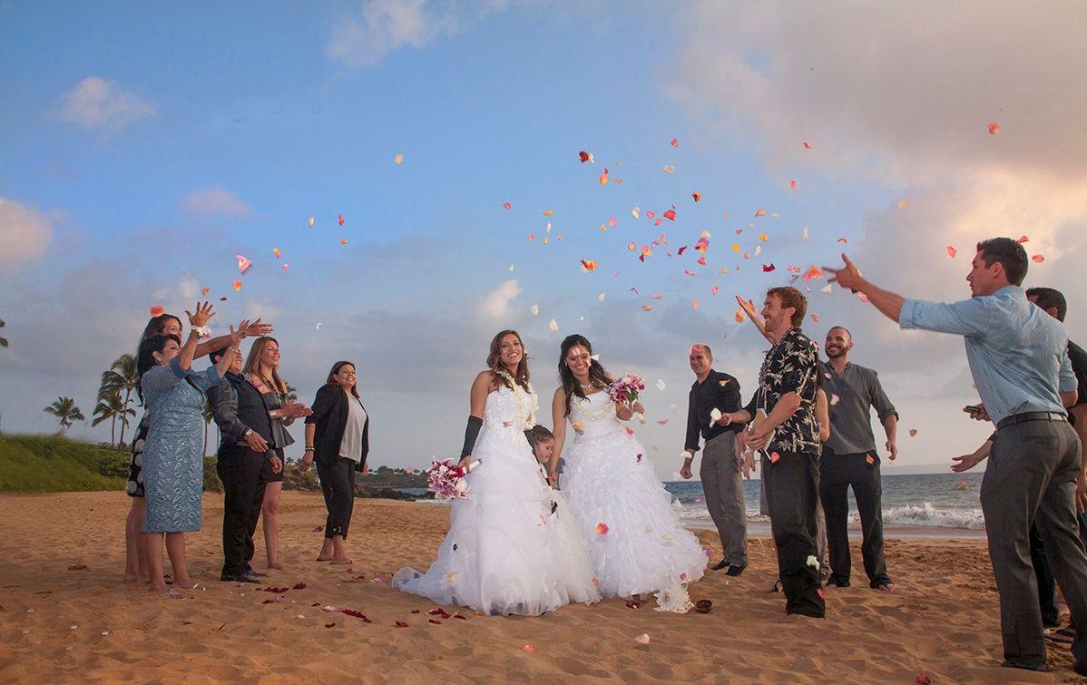 Свадьба лесбиянки на пляже