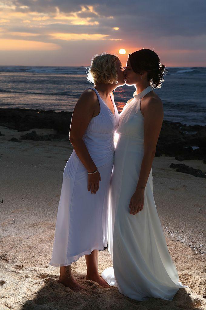 Свадьба лесбиянки закат