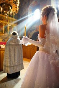 Wedding in the Church of Cyprus