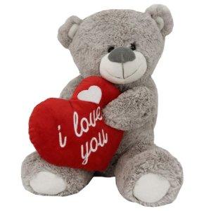 Медведь I love you