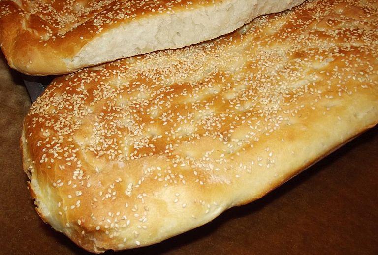 Постный хлеб лагана Λαγάνα