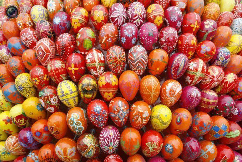 Пасхальные яйца как варить