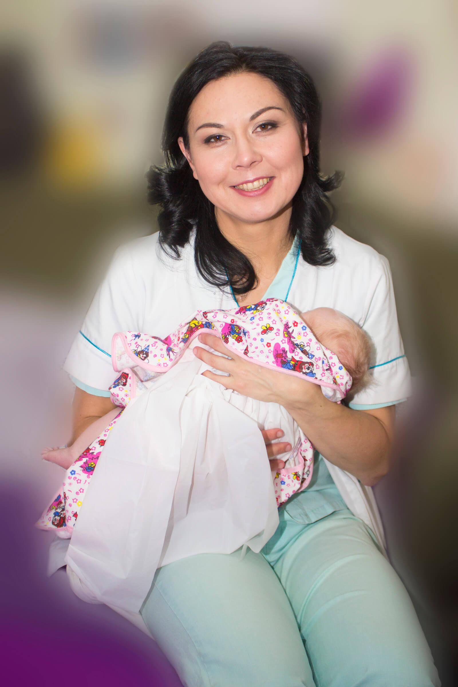 Реабилитолог на Кипре с ребёнком