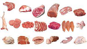 Распечатать картинку Мясо и мясные продукты