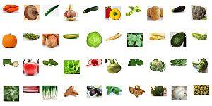 Распечатать картинку Овощи