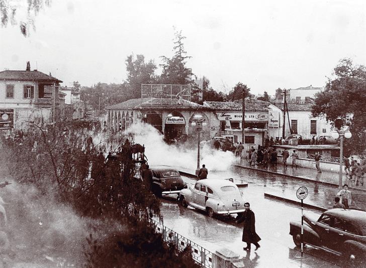 Площадь Свободы (Элефтериас) Никосия начало 20 века