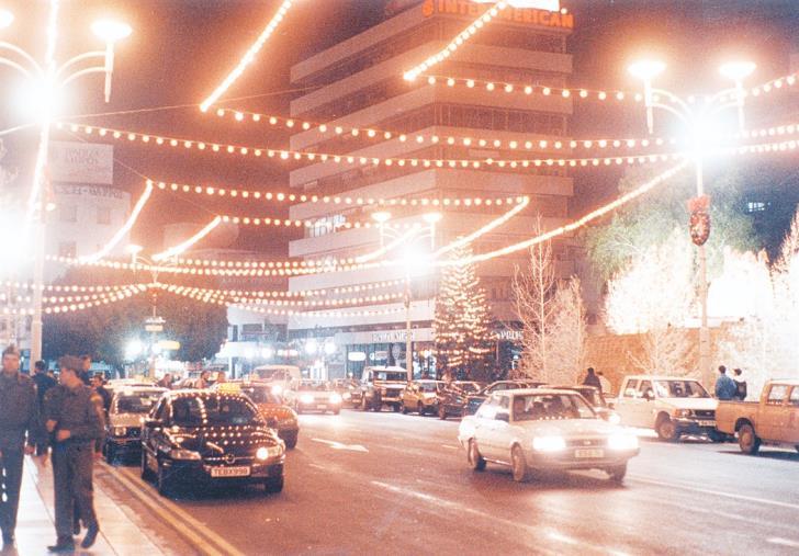 Площадь Свободы (Элефтериас) Никосия 80-е годы 20 века