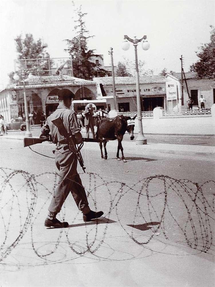 Площадь Свободы (Элефтериас) Никосия 1955