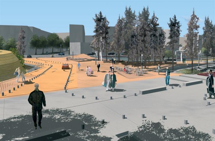 Площадь Свободы (Элефтериас) Никосия 2019