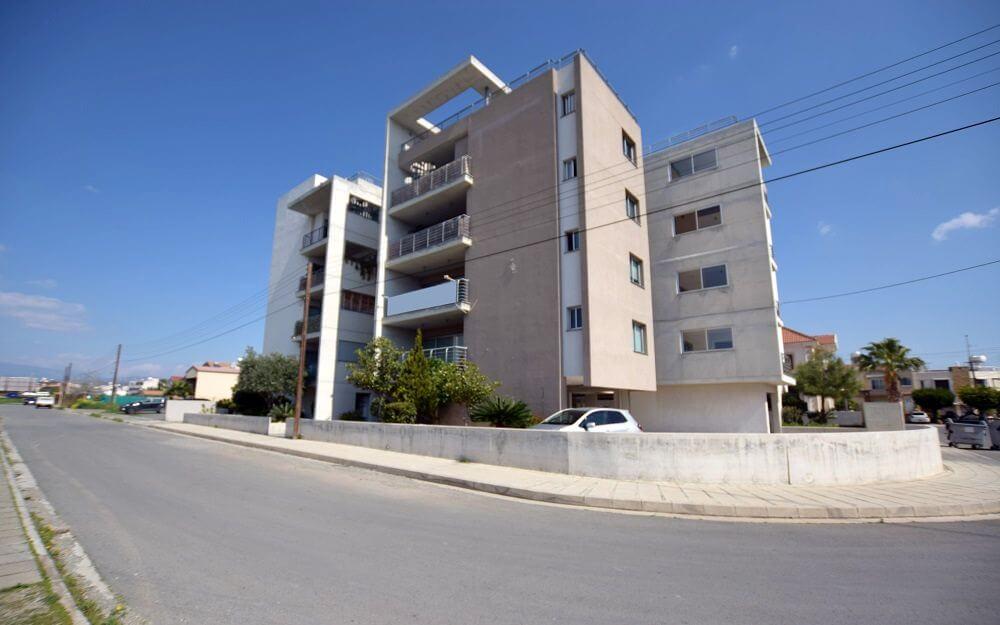 квартира Апостолос Андреас, Лимассол, вид с улицы