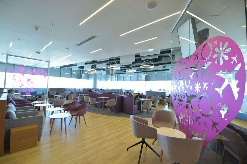 Lounge Aspire бизнес-класса в аэропорту Ларнака