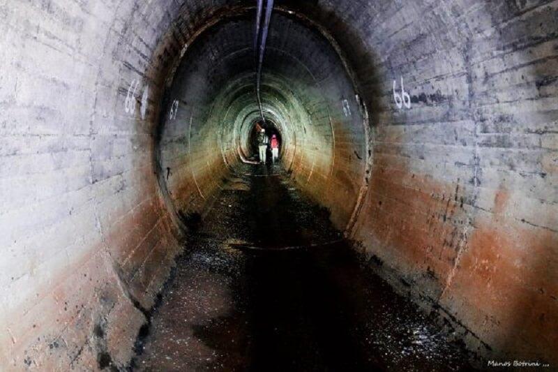 Бетонный туннель Кипр