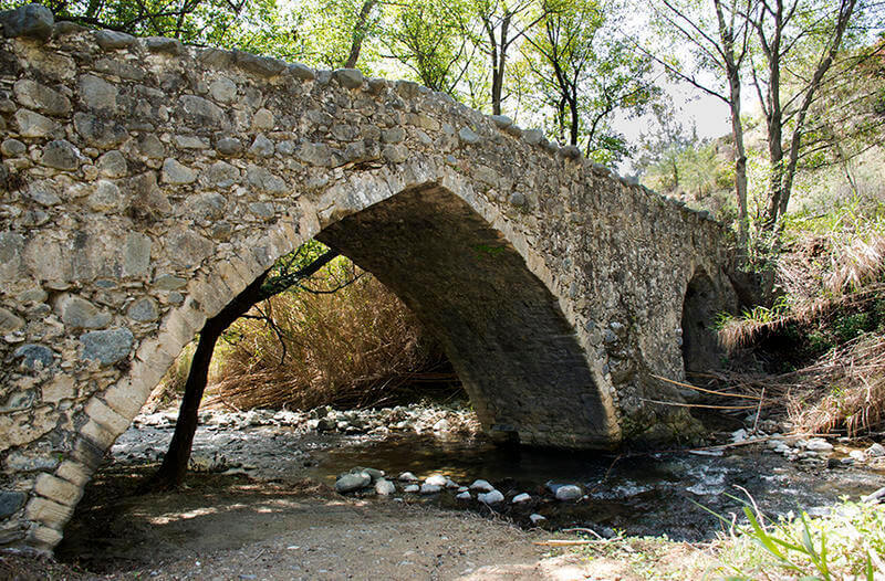 венецианский мост Деревня Тримиклини