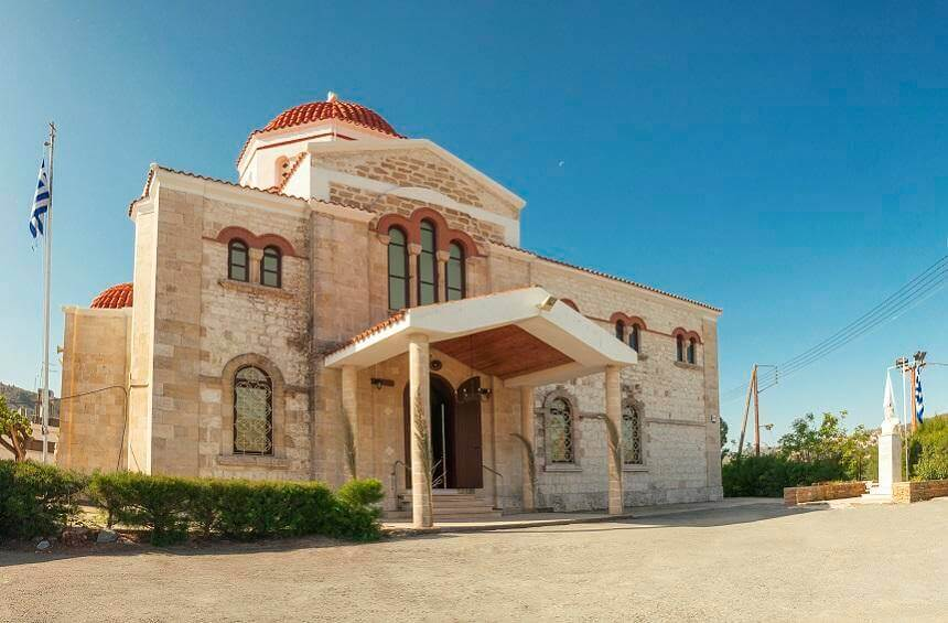 Вход в Церковь Святой Элеусы