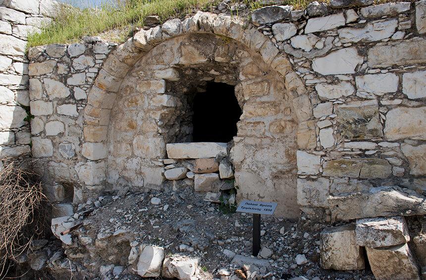 Старинные источники воды Тримиклини