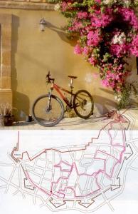 cycle track in Nicosia