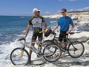 cycling in Agia Napa, Cyprus